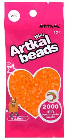 Artkal Beads - Soft - AP2 - Pearl Orange