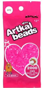 Artkal Beads - Soft - AT2 - Transparent Pink