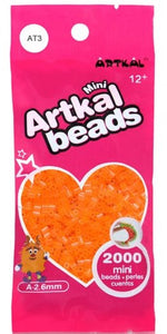 Artkal Beads - Soft - AT3 - Transparent Orange