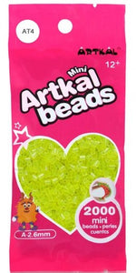 Artkal Beads - Soft - AT4 - Transparent Yellow
