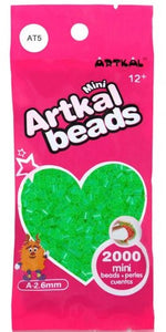 Artkal Beads - Soft - AT5 - Transparent Green