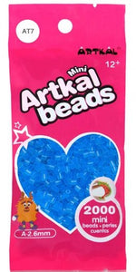 Artkal Beads - Soft - AT7 - Transparent Blue