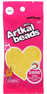 Artkal Beads - Soft - AU2 - Ultraviolet Yellow