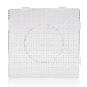 Artkal - Large Square (Clear) Pegboard - 5mm Midi