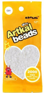Artkal Beads - Hard - C01 - White
