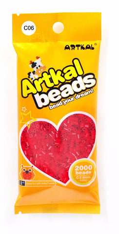 Artkal Beads - Hard - C06 - Red