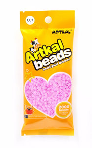 Artkal Beads - Hard - C07 - Carnation Pink
