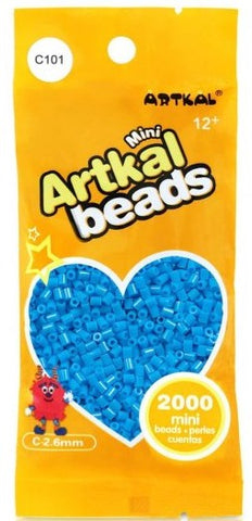 Artkal Beads - Hard - C101 - Pool Blue