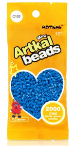 Artkal Beads - Hard - C102 - Caribbean Blue
