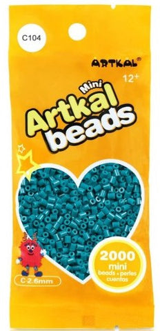 Artkal Beads - Hard - C104 - Petrol Blue