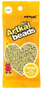 Artkal Beads - Hard - C107 - Seashell Beige