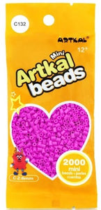 Artkal Beads - Hard - C132 - Pink Plum