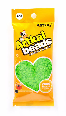 Artkal Beads - Hard - C13 - Pastel Green