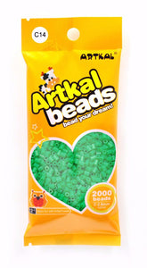 Artkal Beads - Hard - C14 - Green