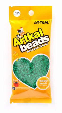 Artkal Beads - Hard - C15 - Green Tea