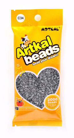 Artkal Beads - Hard - C34 - Dark Gray