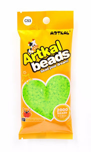 Artkal Beads - Hard - C53 - Bright Green