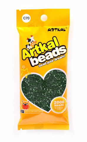 Artkal Beads - Hard - C70 - Brunswick Green