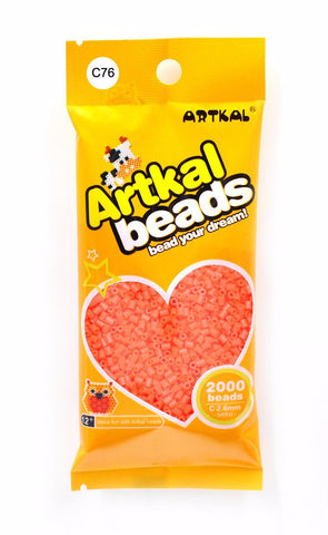 Artkal Beads - Hard - C76 - Coral Red