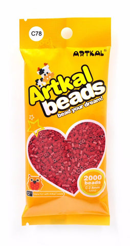 Artkal Beads - C78 - Red Wine