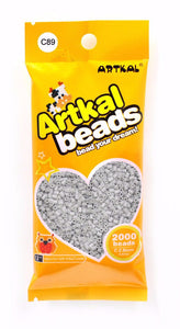 Artkal Beads - Hard - C89 - Light Gray