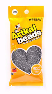 Artkal Beads - Hard - C90 - Charcoal Gray