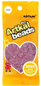 Artkal Beads - Hard - CG2 - Glow-in-the-Dark Pink