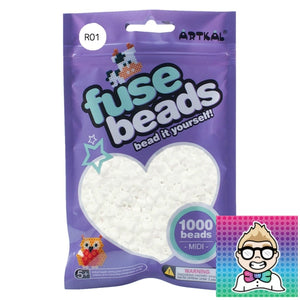 Artkal Beads - Soft - R01 - White