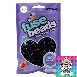 Artkal Beads - Soft - R13 - Black
