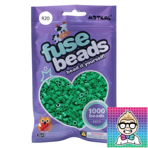 Artkal Beads - Soft - R20 - Green