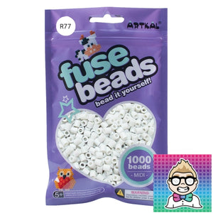 Artkal Beads - Soft - R77 - Ghost White