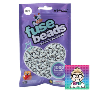 Artkal Beads - Soft - R79 - Light Gray