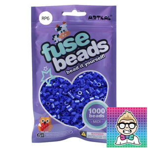 Artkal Beads - Soft - RP6 - Pearl Blue