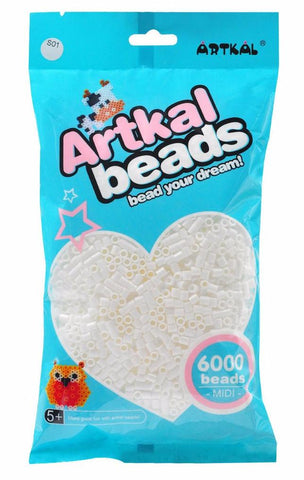 Artkal Beads - Hard - S01 - 6000 - White
