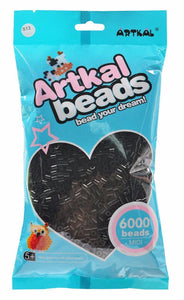Artkal Beads - Hard - S13 - 6000 - Black