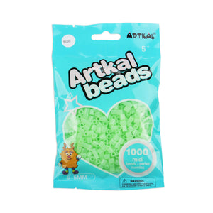 Artkal Beads - Hard - SG6 - Glow-in-the-Dark Green