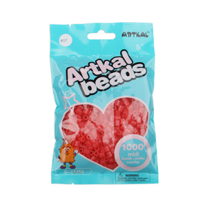 Artkal Beads - Hard - SG7 - Glow-in-the-Dark Red