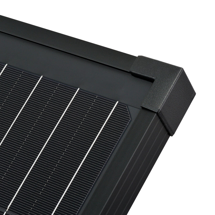 100 WATT PORTABLE SOLAR PANEL BLACK - RICH SOLAR