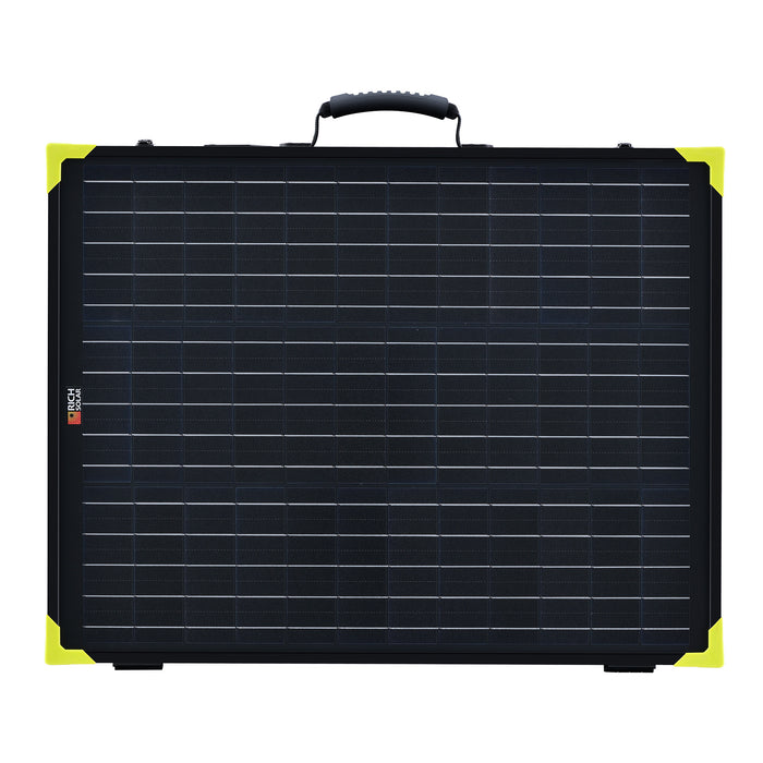 200 WATT PORTABLE SOLAR PANEL BRIEFCASE WITH CONTROLLER - RICH SOLAR