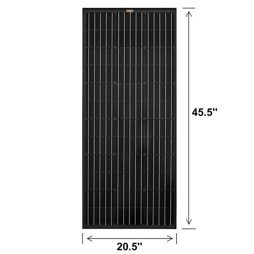 100 WATT SOLAR PANEL BLACK - RICH SOLAR