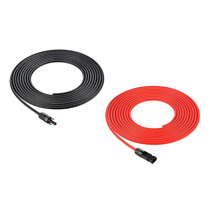RICH SOLAR 30 Feet 10 Gauge Solar Extension Cable - RICH SOLAR