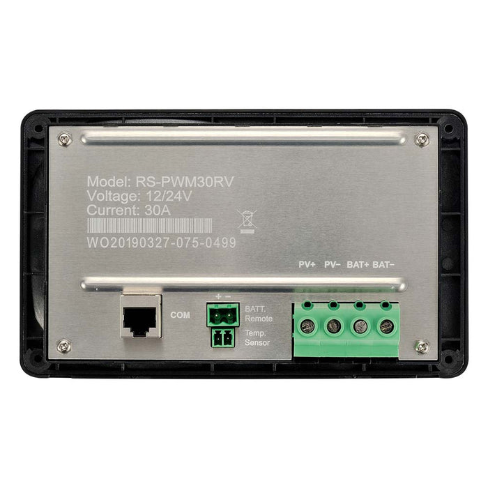 30 AMP SOLAR CHARGE CONTROLLER FLUSH MOUNT - RICH SOLAR