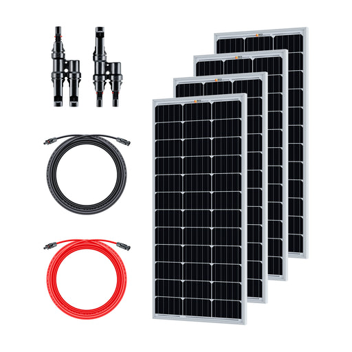 400 WATT SOLAR KIT FOR SOLAR GENERATORS - RICH SOLAR
