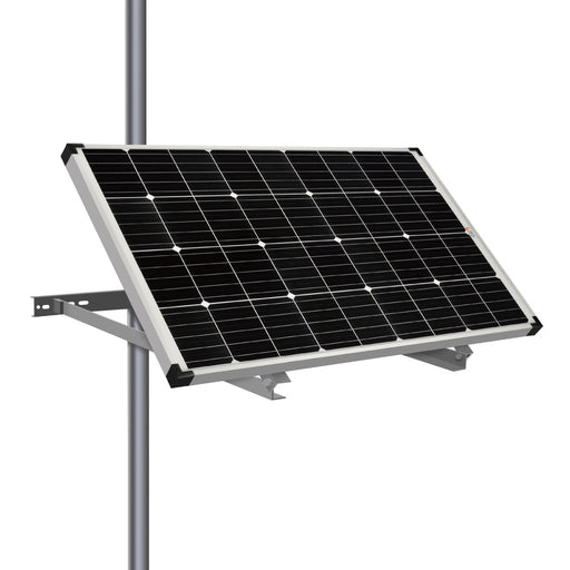 SIDE POLE MOUNTS FOR ONE PANEL - RICH SOLAR