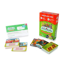 Multibloom multiplication game, 7+/9+ age