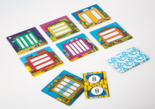 Multimany multiplication game, 5+/8+ age
