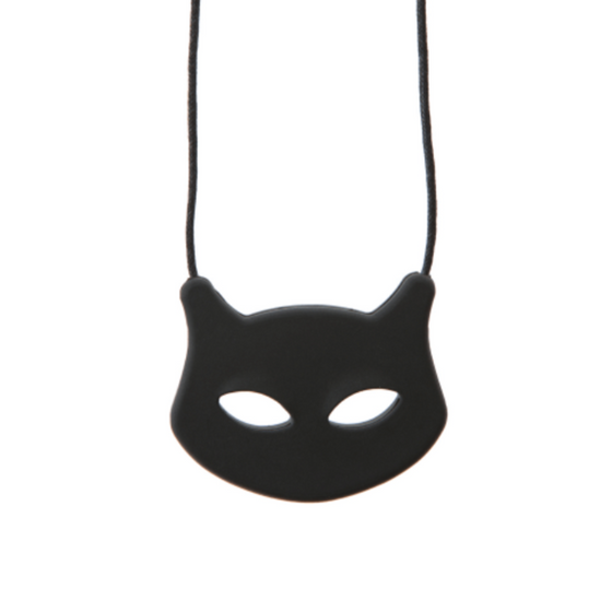 CAT necklace BLACK