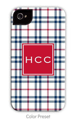 Plaid Personalized Iphone cover