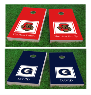 Personalized College Cornhole Boards