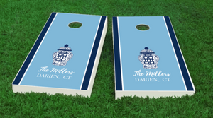Chinoiserie Cornhole Board Set